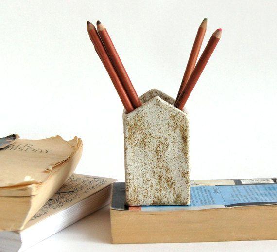 Cadeau pour professeur-stylo porte-crayon par Vsocks sur Etsy