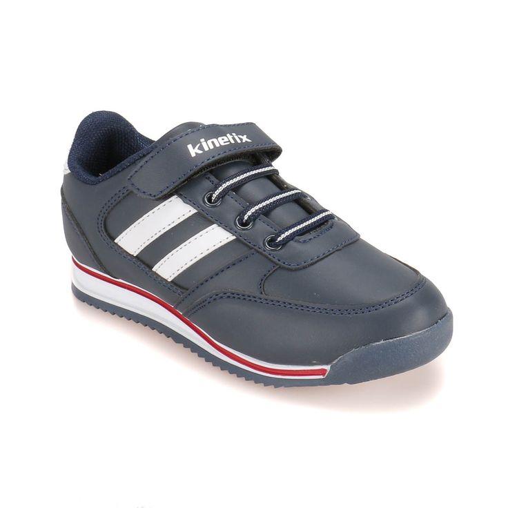 Kinetix 1254185 Lacivert Beyaz Kırmızı Erkek Çocuk Sneaker - Sneaker - Tüm Erkek Çocuk Ürünleri - Çocuk
