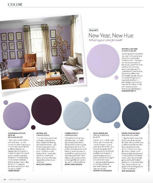2015 December   House Beautiful Magazine. Color TrendsHouse BeautifulPaint  ColorsDecember