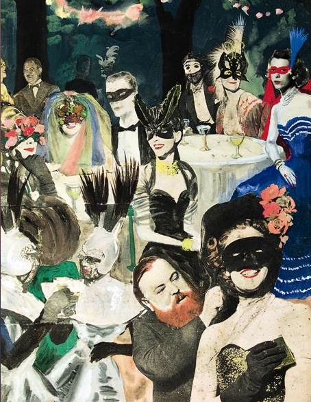 A party given by the Baron and Baronne de Cabrol From the scrapbook of the Baron de Cabrol.