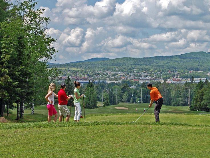 Golf au Club de Golf et Curling de Thetford-Mines