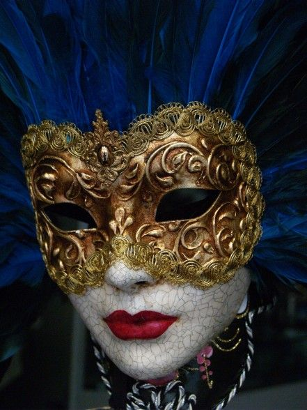 Venetian Mask by chribob.deviantart.com with Pin-It-Button on @deviantART