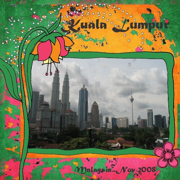 Kuala Lumpur II - Scrapbook.com