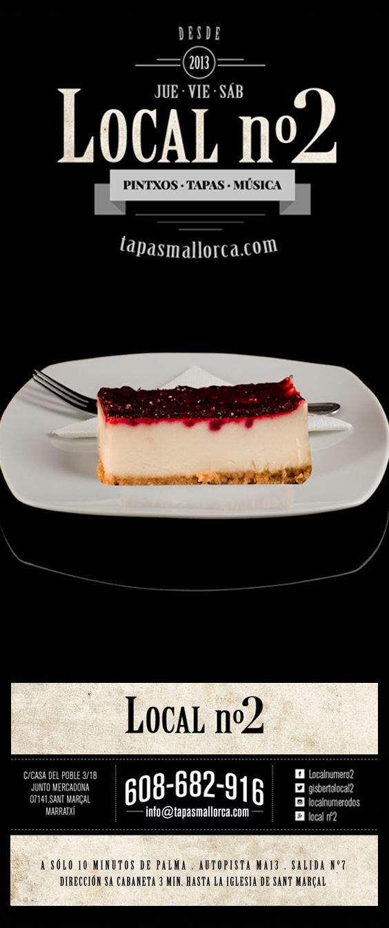 postre / Nachtisch / dessert / Nachspeise / panacotta / Pannacotta / de local n°2 / local2 / localnumero2 / localnumerodos / Marratxí / Mallorca / info@tapasmallorca.com … 608-682916