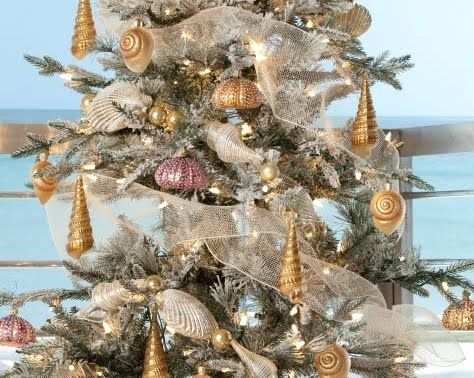 Seashell Christmas Ornaments Ideas | The Christmas Set (items Can All Be  Purchased Individually)