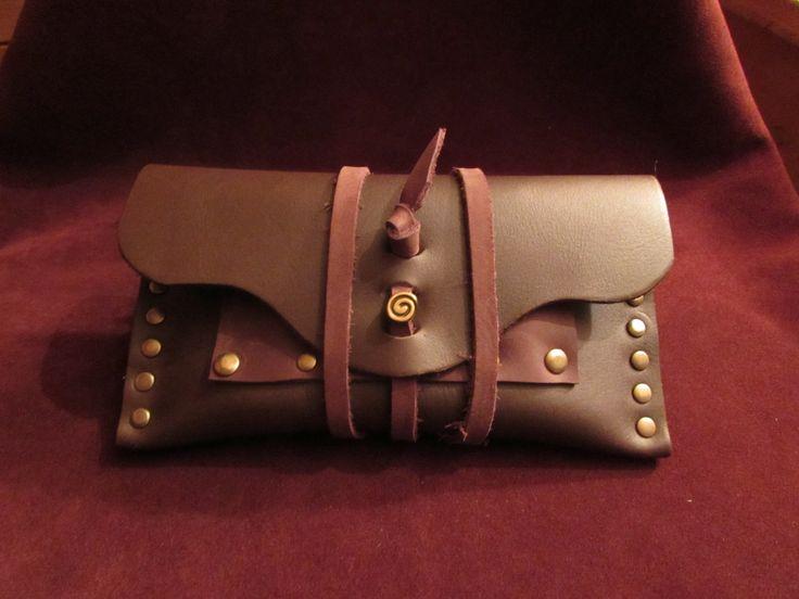 blague a tabac en cuir age de bronze : Etuis, mini sacs par monguypower