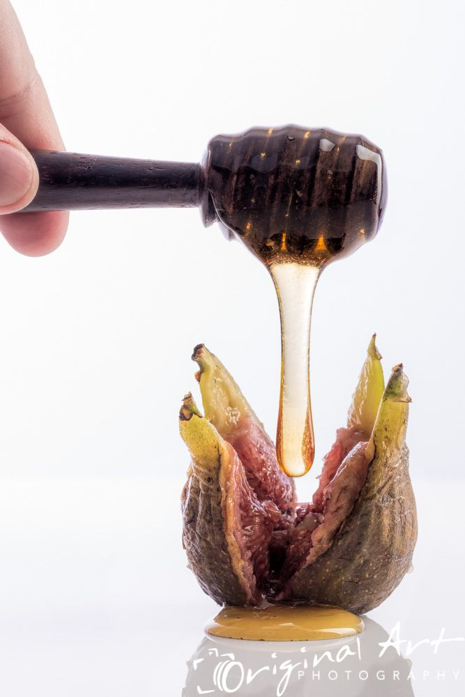 #Honey drizzled onto #fig #food #foodphotography