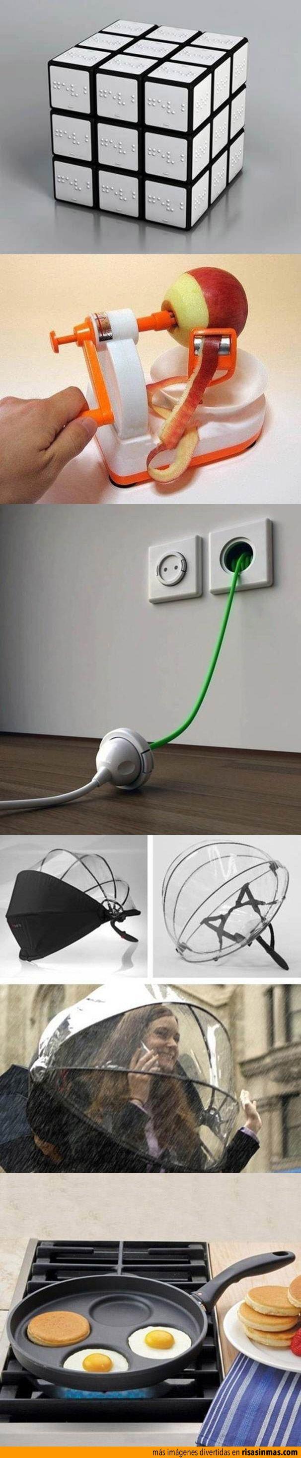 Inventos originales y divertidos.