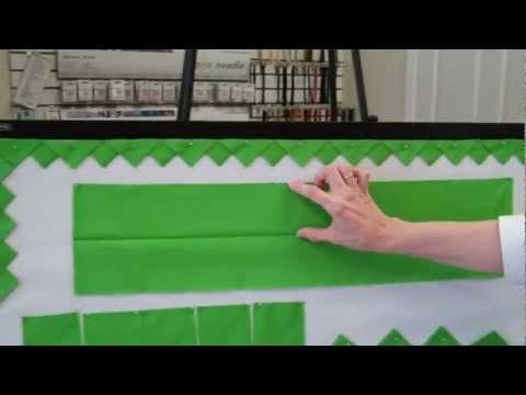 HOW TO MAKE CONTINUOUS PRAIRIE POINTS - YouTube
