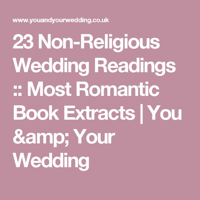 25 Best Ideas About Non Religious Wedding Ceremony On Pinterest