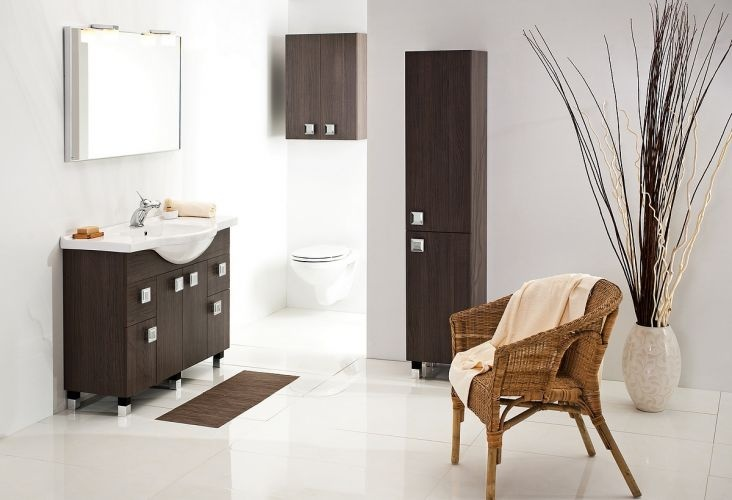 RIO bathroom furniture #lazienka #meble #szaka #umywalka #cabinet #washbasin