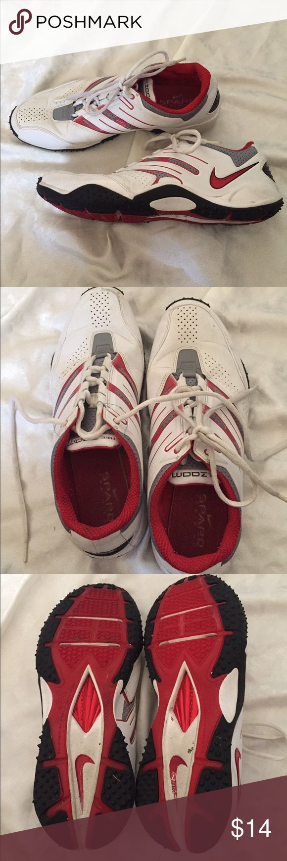 Men's Nike Zoom Sparq Men's Nike Zoom Sparq running shoes. Used but good condition. There are a few scuffs and marks on the front and back but they have a lot of life left! Nike Shoes Athletic Shoes