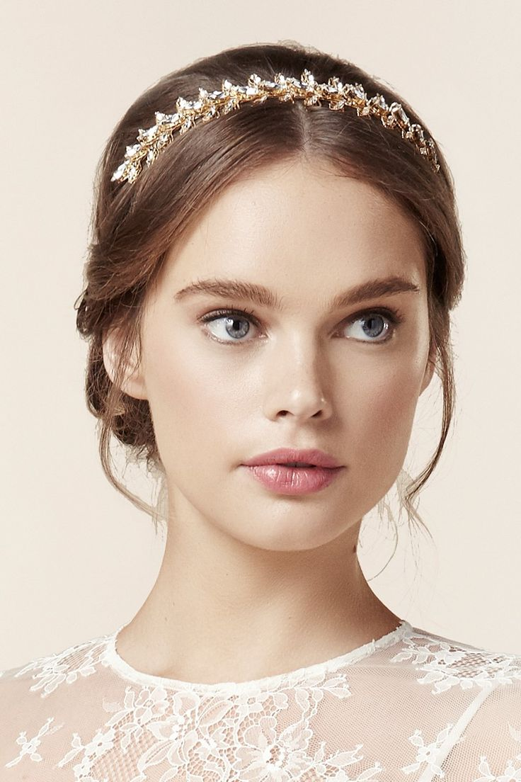 Helena Bridal Headband - The Beautiful New Collection of Bridal Hair Accessories & Jewelry from Elizabeth Bower