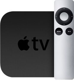 Quite possibly the best investment I've ever made. The Apple TV - watch your netflix, hulu plus, play youtube videos, all streaming through wifi!