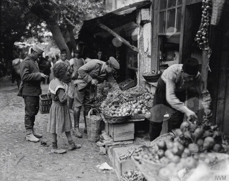 ΕΛΛΑΣ-GREECE Arnissa (Ostrovo) Pella-Macedonia,1916.  Photographer: Vanges Ariel ministry of information first world war official collection ( Imperial War Museum)