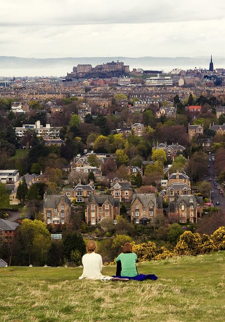 Edinburgh, Scotland: Famous Castles, Edinburgh Scotland, Buckets Lists, Dreams, Cities, Beautiful Places, Edinburgh Castles, Blackford Hill, Wanderlust