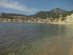 Port from Can Repic in Soller, see my award winning page about Soller in Mallorca