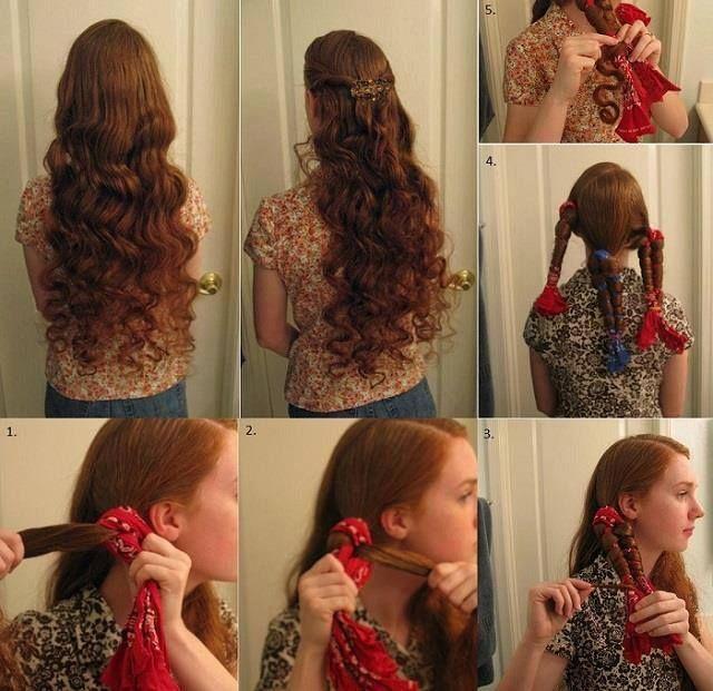 Diy christmas room decor stilababe09 heatless curls