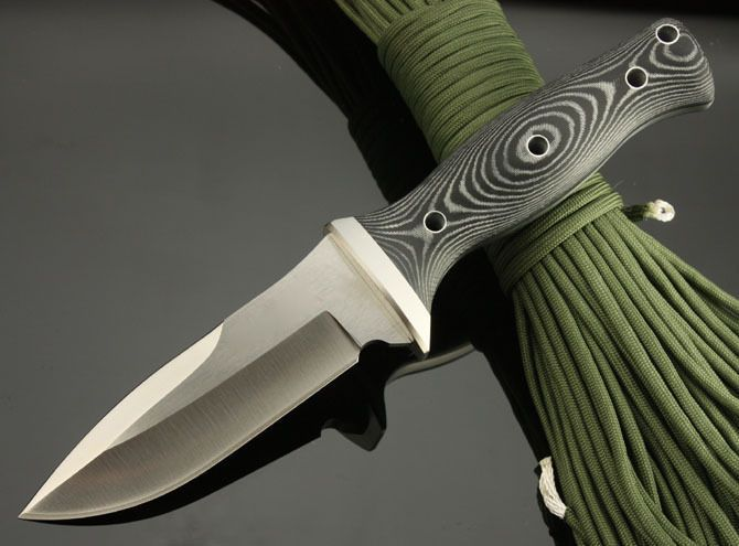 New Sharpest AUS-8A Steel Small Straight Knife Micarta Handle Hunting Camping Knife Fixed Blade Tactical Survival Knife 695 //Price: $58.40 & FREE Shipping //     #explore #outdoor