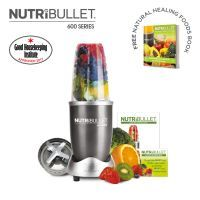 NutriBullet 600 Series 5 Piece Set - Ice Blue  The secret of the NutriBullet is its powerful 600W motor combined with bullet cyclonic action that forces everything through the extractor blades at an incredible 20,000 RPM; breaking down and pulverising stems, seeds and skins   #blenders #foodprocessors #juicers #kitchenware #nutribullet #smoothiemakers