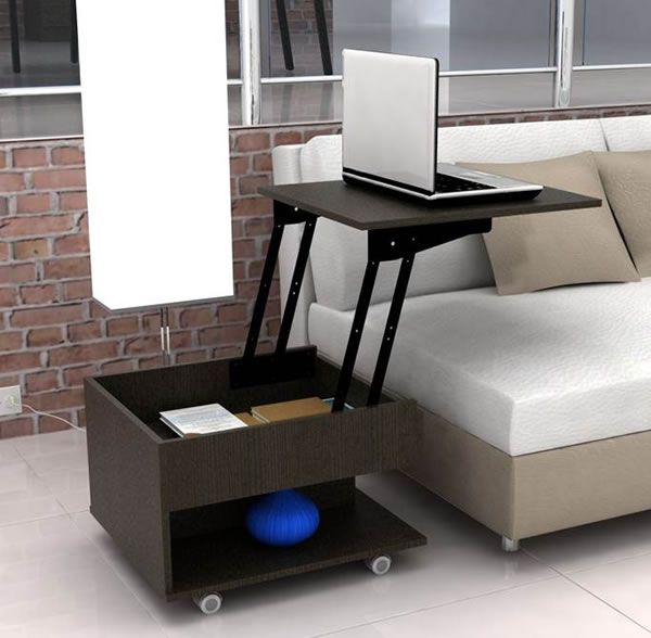 14 best muebles multifuncionales images on pinterest for Aprovechar espacios pequenos