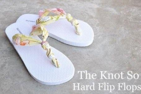 DIY Flip Flops.