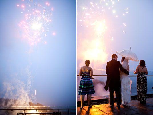 Fireworks Display At Parknasilla Hotel Christina Brosnan Photographic Seaside Weddingfireworksirelandirish