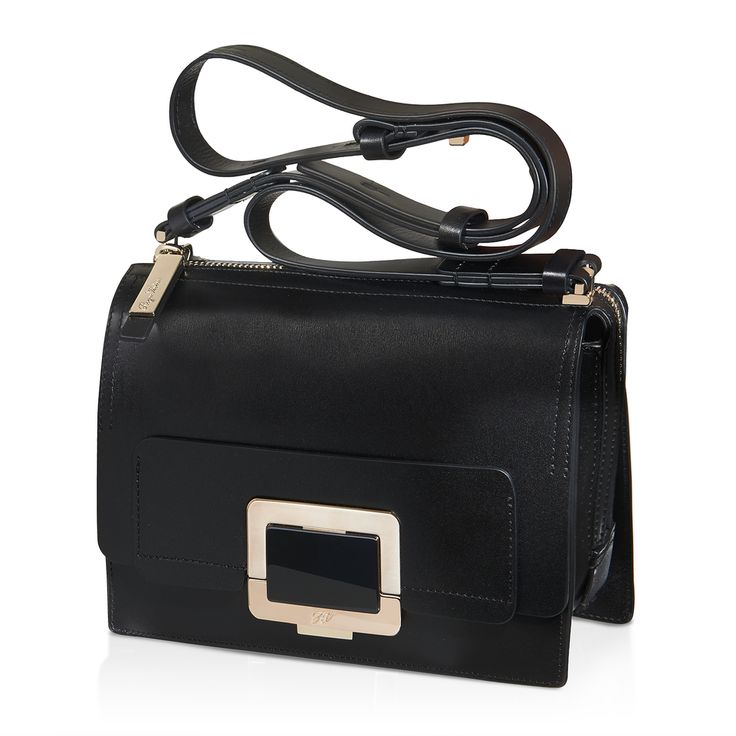 Roger Vivier - Mini Shoulder-U Bag in Leather #theluxer #thestories #RogerVivier #EleonoraCarisi