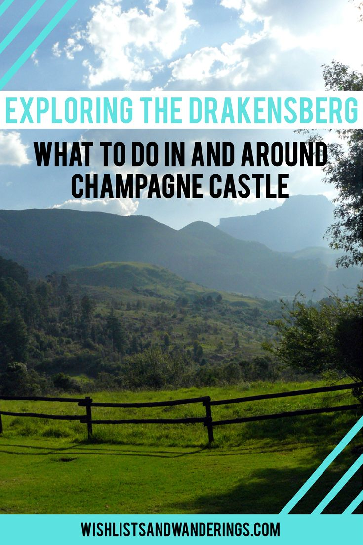 Exploring the Drakensberg: What to do in and around Champagne Castle. South Africa's tallest mountain range, the Drakensberg ('dragon mountains') are home to a UNESCO World Heritage Site, priceless rock art and a lot of eager travelers inspired by the wildlife and stunning landscapes. One of the tallest mountains, Champagne Castle, lies in a valley offering activities for any type of holiday. From horse riding, golf, bowls and tennis to white water rafting, quad biking and non-outdoorsy…