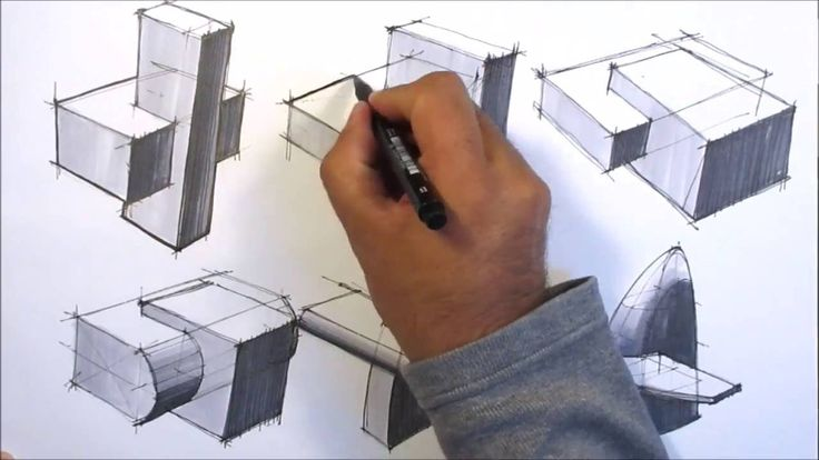 basic sketching techniques intersections part1