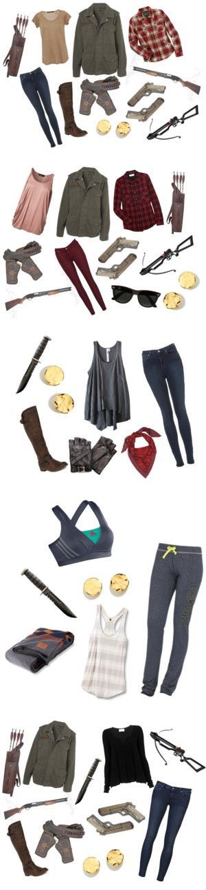 """""""The Walking Dead: Season 1"""" by kittums ❤ liked on Polyvore"""