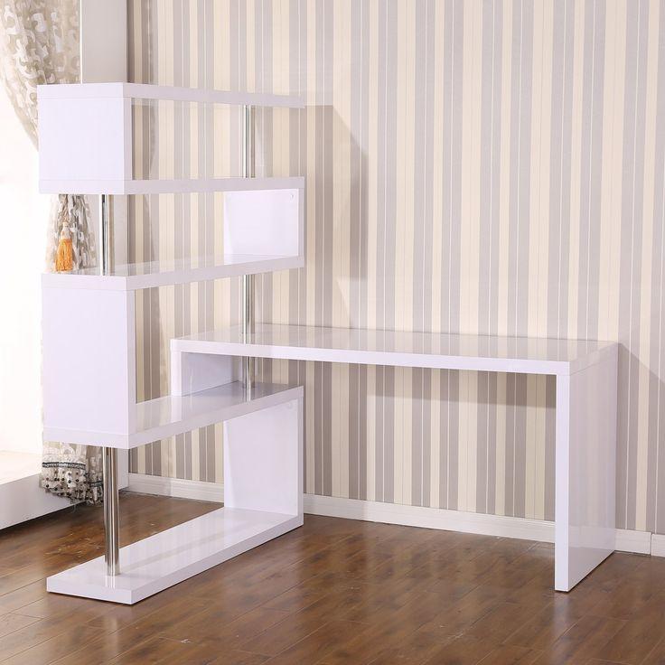 Shelves White Office And Desks On Pinterest