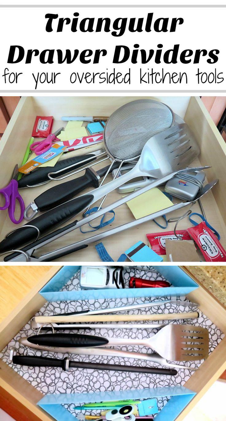 Diy Kitchen Drawer Dividers 25 Best Ideas About Drawer Dividers On Pinterest Utensil
