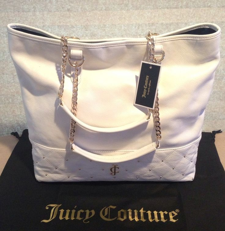 PerfectbJuicy Couture<3 #whitehandbag