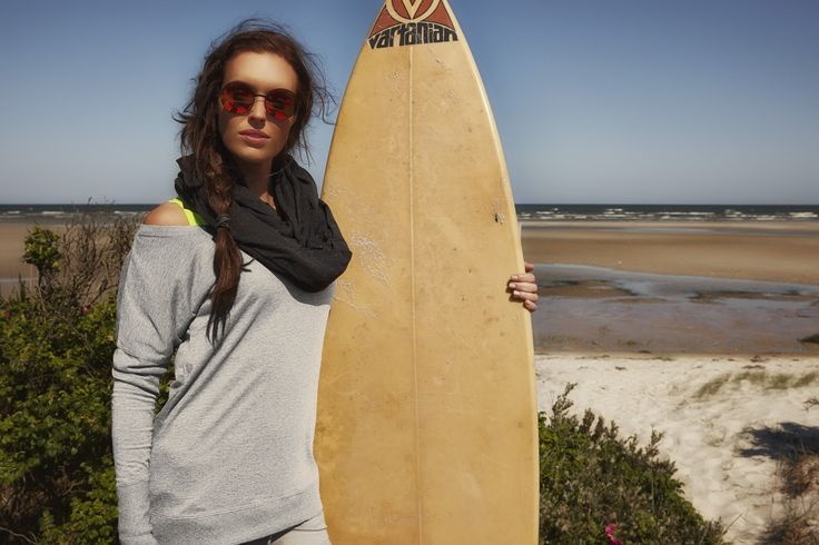 Fitness wear by Purelime Spring 2015 Surfing