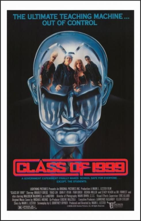 Class of 1999 Movie Poster (1990)