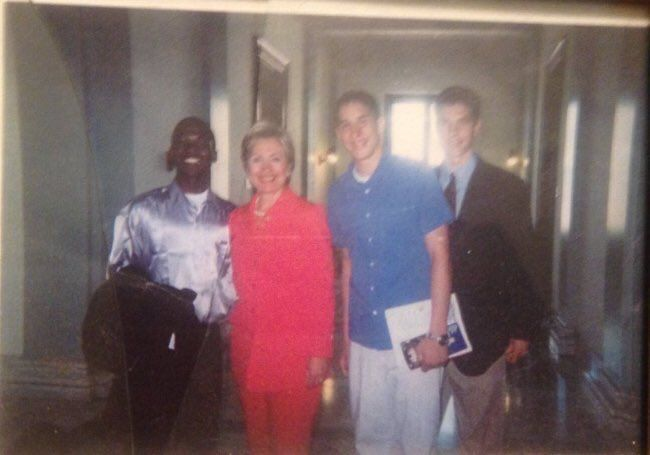 SHOCK! Man Arrested For Threats To Jewish Community Centers Spotted In Photo With HILLARY CLINTON - American Lookout