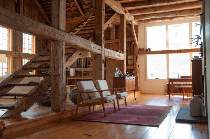 A Rural 1800s Barn Becomes a Modern Home | Design*Sponge