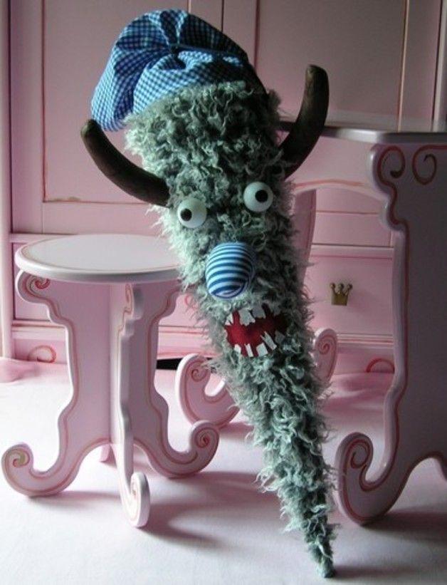 Schultüte*Monstermäßig*  grau & blau