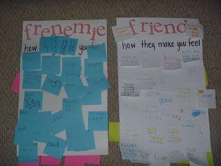 friends vs. frenemies & I -love- the idea of book camps!