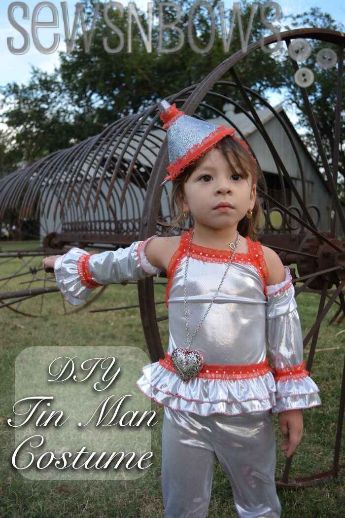 DIY Tin Man Costume | SewsNBows