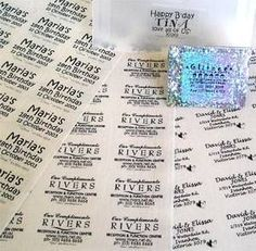 How to Make Clear Waterproof Labels thumbnail
