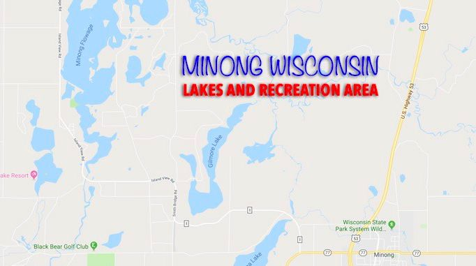 About Minong, Wisconsin Lakes and Recreation Area ...