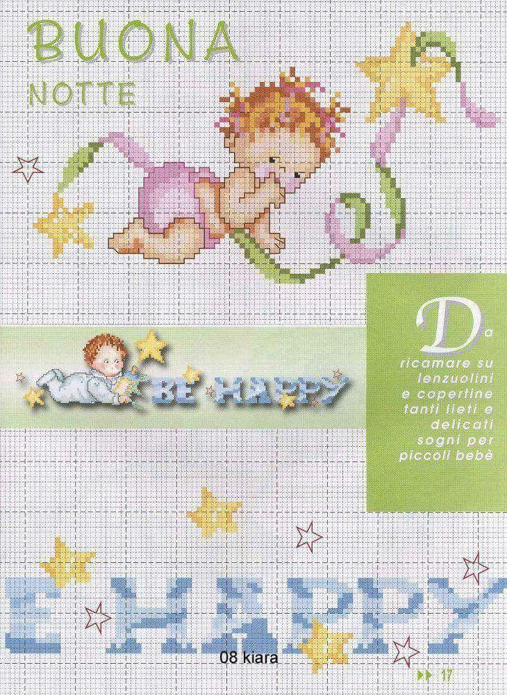 Mejores 1132 imágenes de bebes en Pinterest   Bordado, Bordado de ...