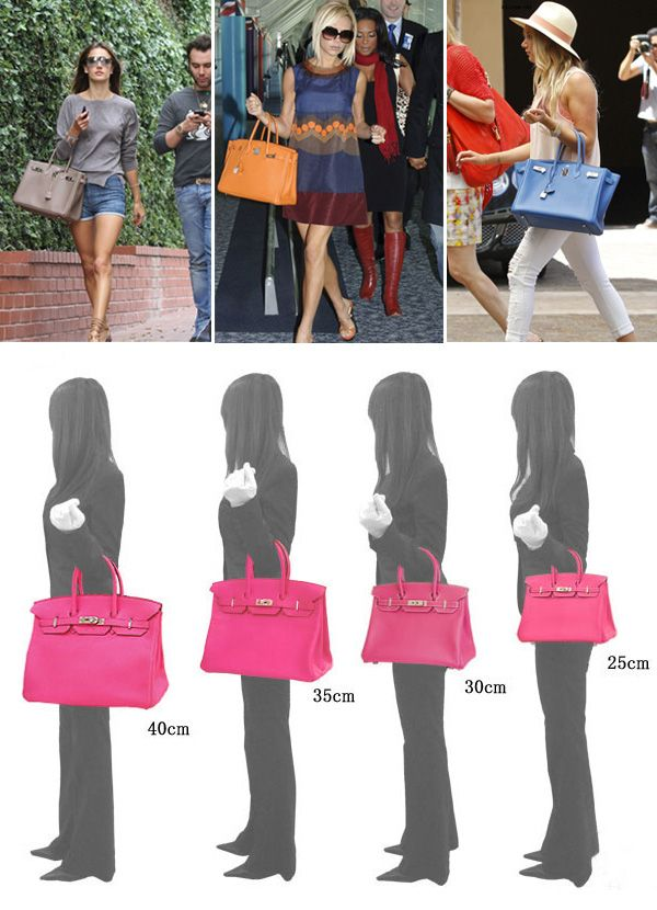 Love Hermes Birkin Bags, a size to fit any day!