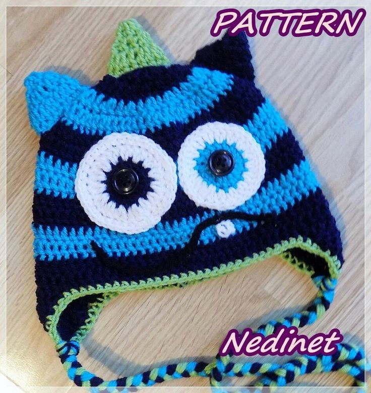 Excited to share the latest addition to my #etsy shop: Crochet Pattern Monster crochet hat, Pdf PATTERN #blue #birthday #crochet #boyhat #monster #crochethat #pattern #boyhatpattern http://etsy.me/2mle4bL