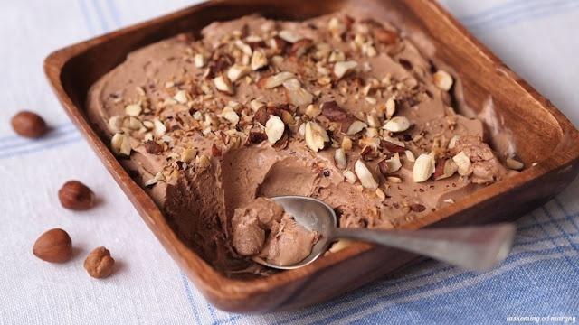 nutelová zmrzlina