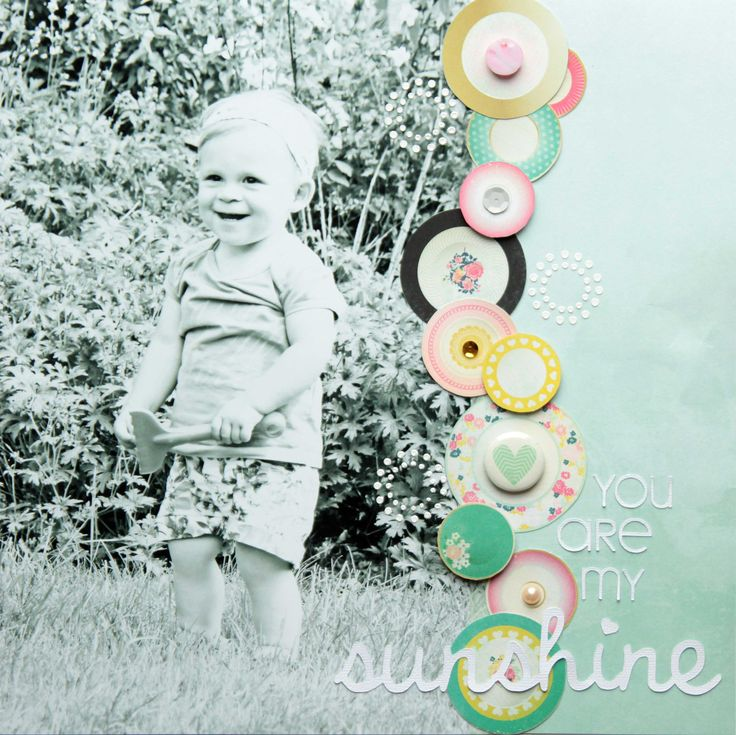 You Are My Sunshine - #crate paper - Steffi Ried