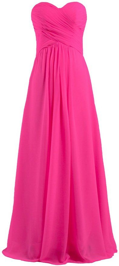 35 best pink bridesmaid dresses images on pinterest for Fuschia pink dress for wedding