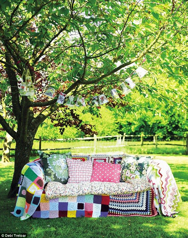 living with add book. outdoor living special: just add sunshine with book